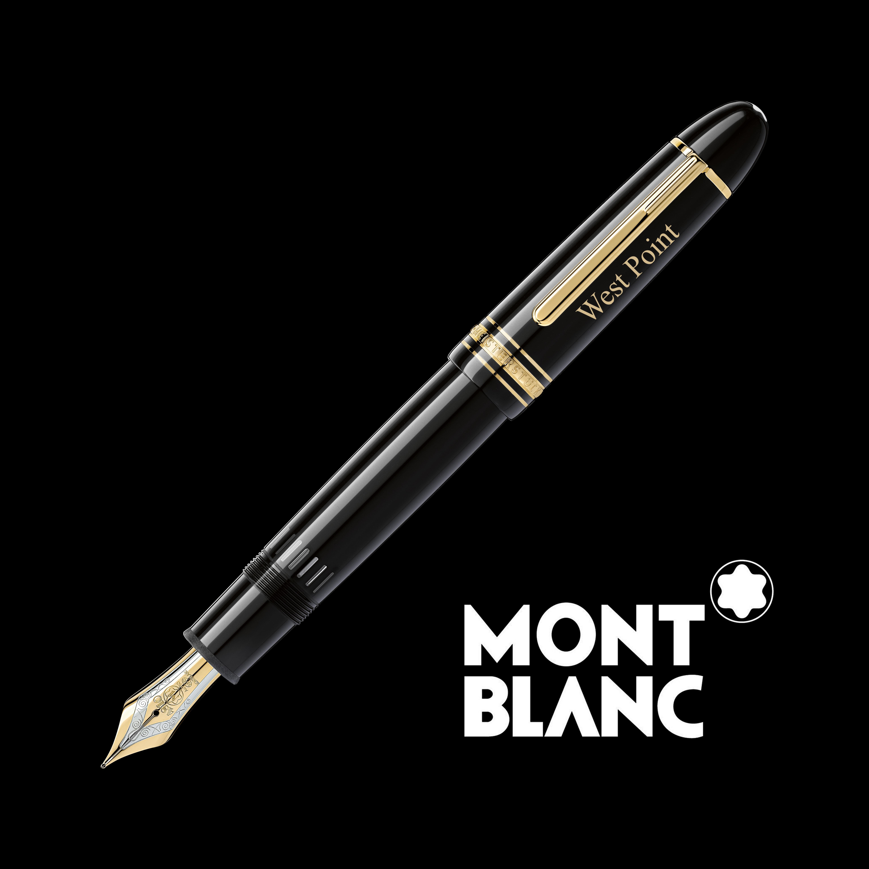 West Point Montblanc Meisterstück 149 Fountain Pen in Gold