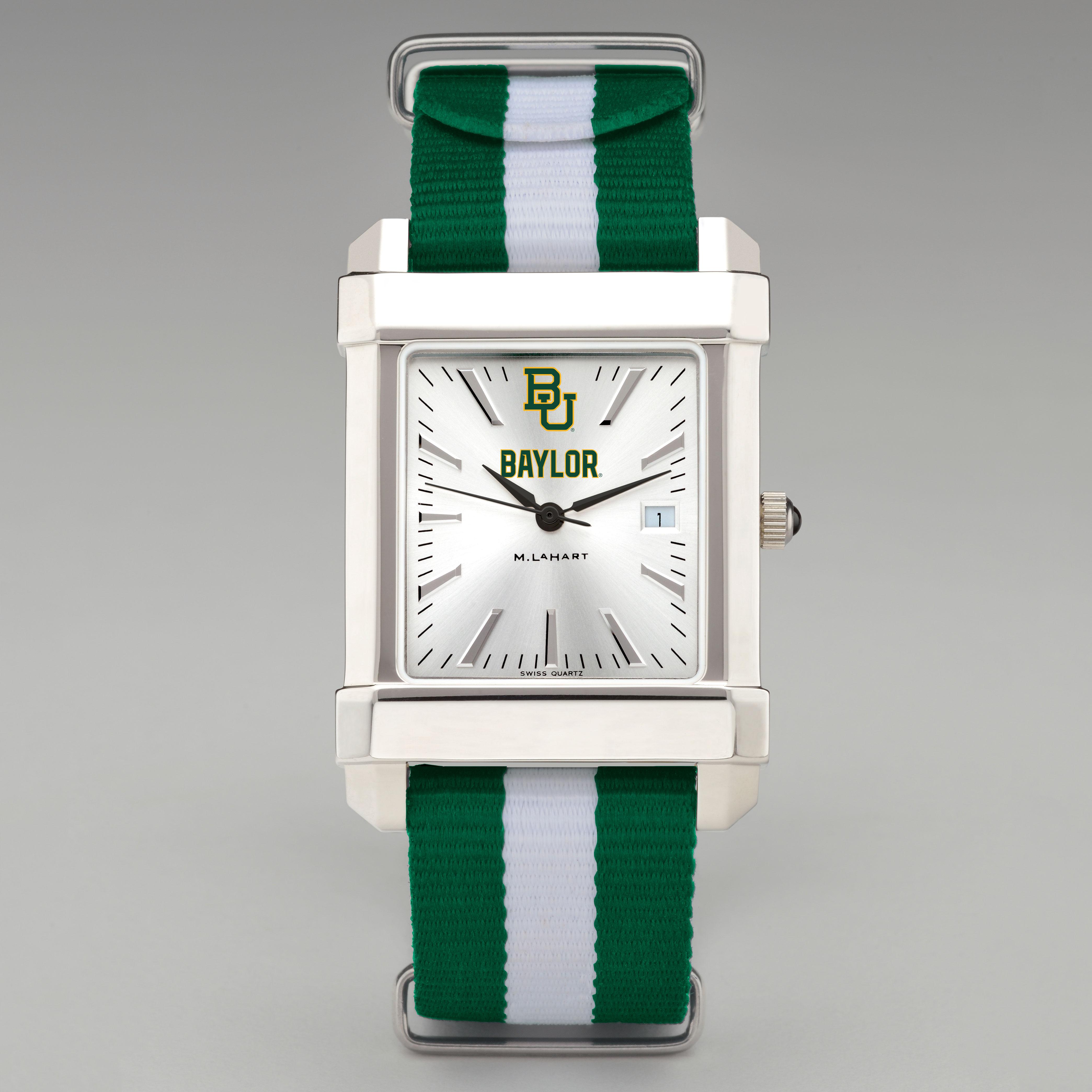 Baylor Men's Collegiate Watch w/ NATO Strap