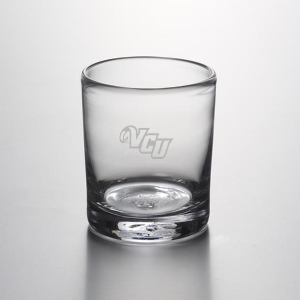 VCU Double Old Fashioned Glass by Simon Pearce