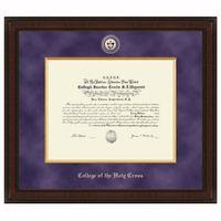 Holy Cross Excelsior Diploma Frame Image-1 Thumbnail