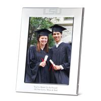 LSU Polished Pewter Picture 5x7 Picture Frame