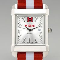 Miami University Men's Collegiate Watch w/ NATO Strap