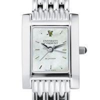 UVM Women's MOP Steel Quad with Bracelet