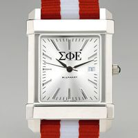 Sigma Phi Epsilon Men's Collegiate Watch w/ NATO Strap Image-1 Thumbnail