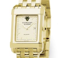 West Point Men's Gold Quad Watch with Bracelet Image-1 Thumbnail