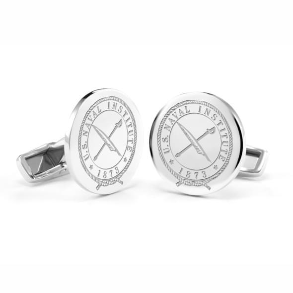 USNI Sterling Silver Cufflinks