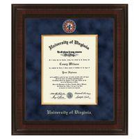 UVA Excelsior Diploma Frame