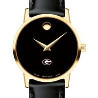 Georgia Women's Movado Gold Museum Classic Leather