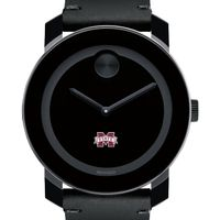 Mississippi State Men's Movado BOLD with Leather Strap