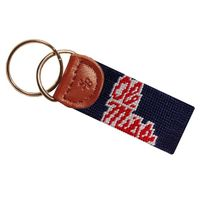 Ole Miss Cotton Key Fob