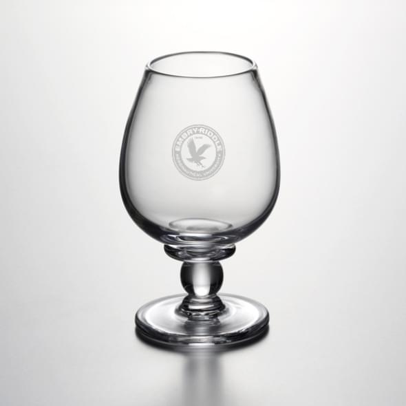 Embry-Riddle Glass Brandy Snifter by Simon Pearce