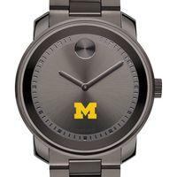 Michigan Men's Movado BOLD Gunmetal Grey