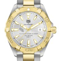 Coast Guard Academy Men's TAG Heuer Two-Tone Aquaracer