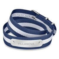 Villanova University Double Wrap NATO ID Bracelet