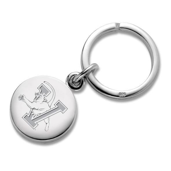 UVM Sterling Silver Insignia Key Ring