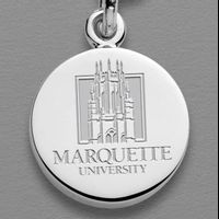 Marquette Sterling Silver Charm
