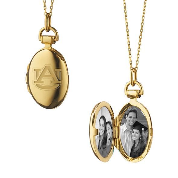 Auburn Monica Rich Kosann Petite Locket in Gold