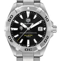 Johns Hopkins Men's TAG Heuer Steel Aquaracer with Black Dial