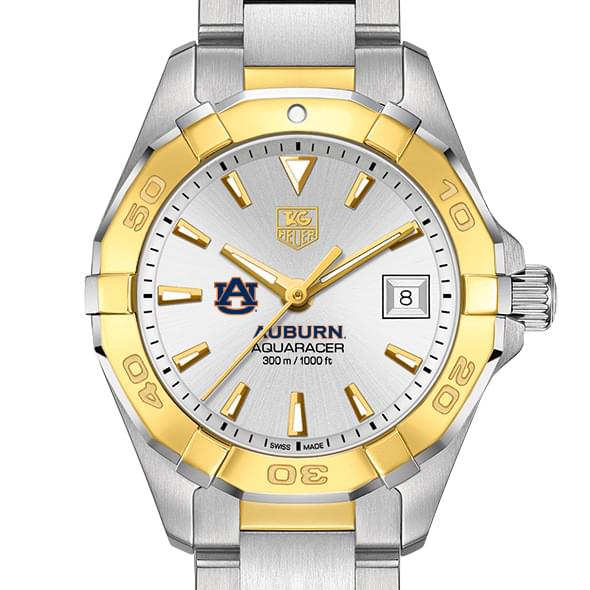 Auburn Women's TAG Heuer Two-Tone Aquaracer