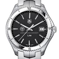 James Madison Men's Link Watch with Black Dial