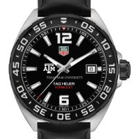 Texas A&M Men's TAG Heuer Formula 1 with Black Dial