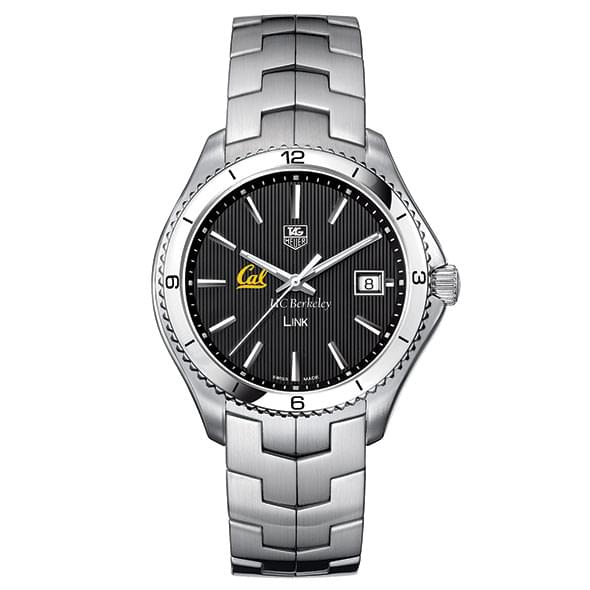 Berkeley TAG Heuer Men's Link Watch with Black Dial