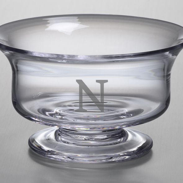 Northwestern Large Glass Bowl by Simon Pearce Image-2