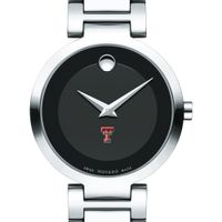 Texas Tech Women's Movado Museum with Steel Bracelet