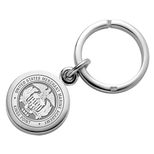 Merchant Marine Academy Sterling Silver Key Ring