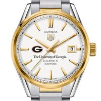 Georgia Men's TAG Heuer Two-Tone Carrera with Bracelet