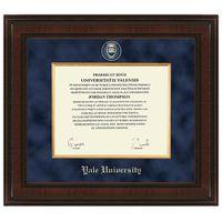 Yale Excelsior Diploma Frame