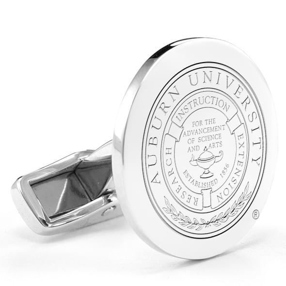 Auburn Sterling Silver Cufflinks