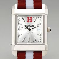 Harvard Men's Collegiate Watch with NATO Strap
