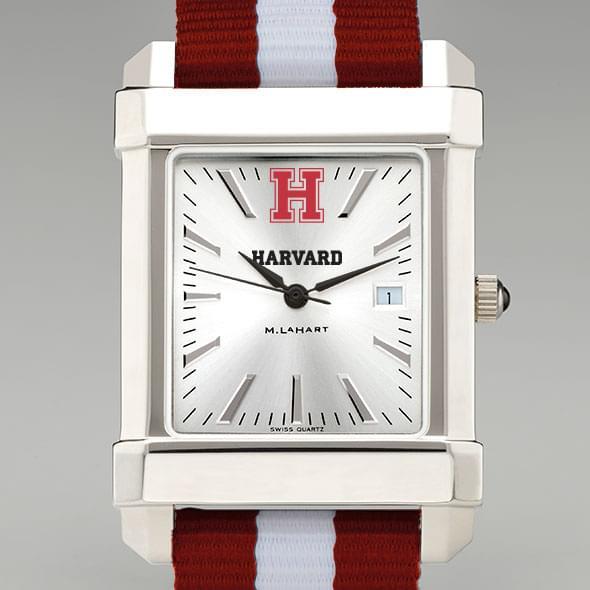 Harvard Men's Collegiate Watch with NATO Strap