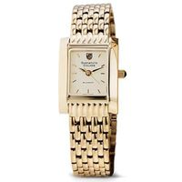 Dartmouth Women's Gold Quad Watch with Bracelet