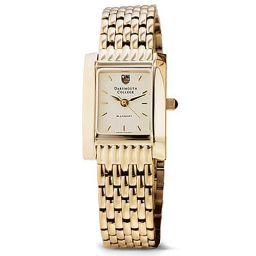 Dartmouth Women's Gold Quad Watch with Bracelet