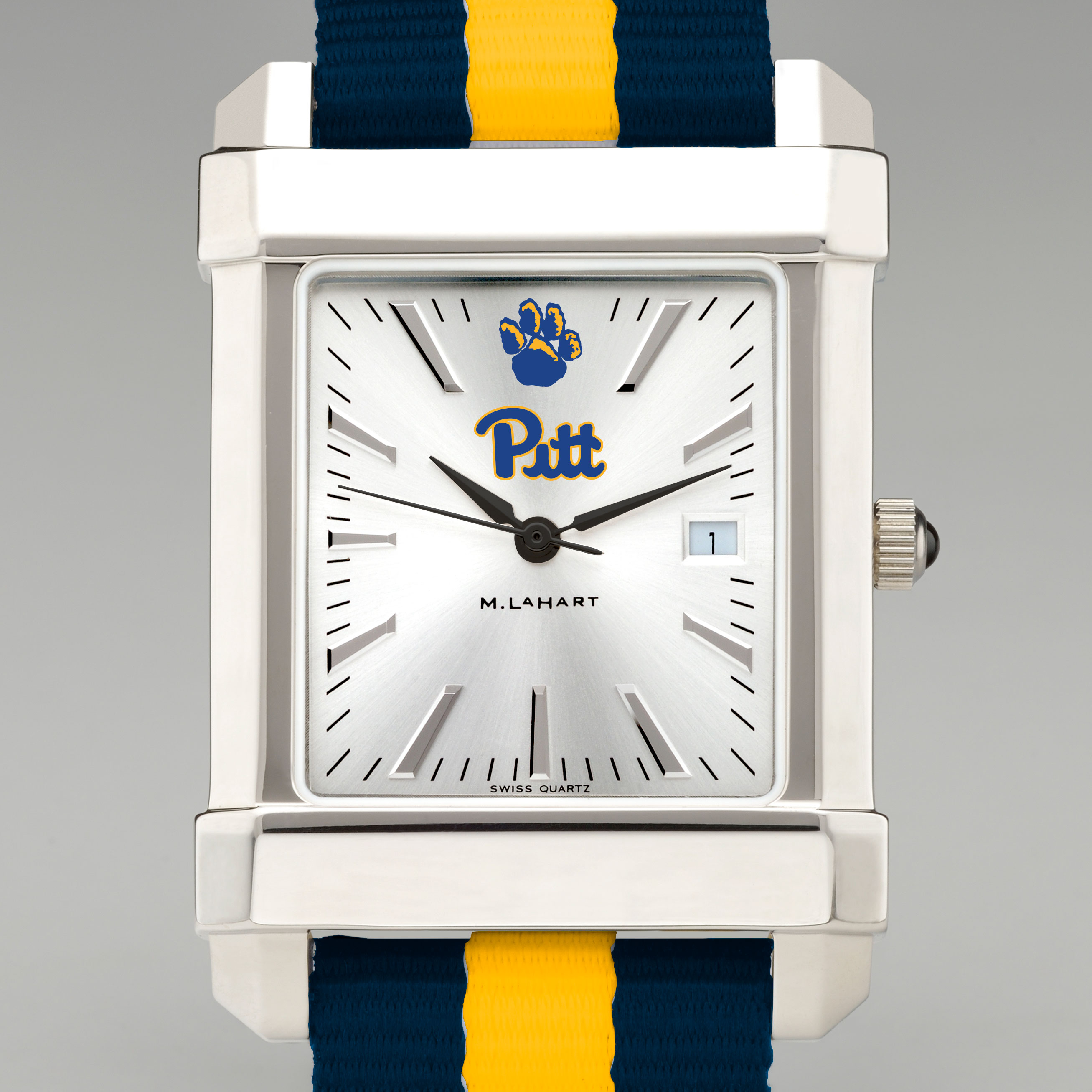 Pitt Men's Collegiate Watch w/ NATO Strap