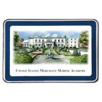 Merchant Marine Academy Eglomise Paperweight