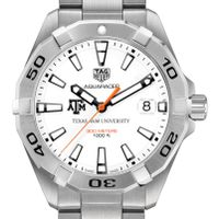 Texas A&M Men's TAG Heuer Steel Aquaracer