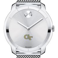 Georgia Tech Men's Movado Stainless Bold 44