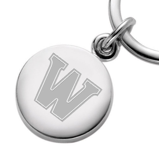 Williams College Sterling Silver Insignia Key Ring