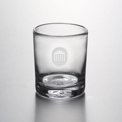 Ole Miss Double Old Fashioned Glass by Simon Pearce