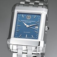 WUSTL Men's Blue Quad Watch with Bracelet