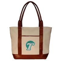 Tulane University Needlepoint Tote