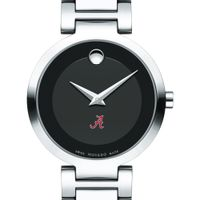 Alabama Women's Movado Museum with Steel Bracelet