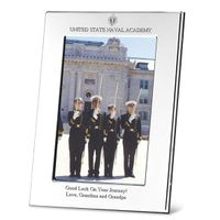 Navy Polished Pewter 4x6 Picture Frame