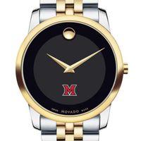 Miami University Men's Movado Two-Tone Museum Classic Bracelet