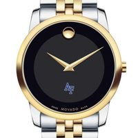 Air Force Academy Men's Movado Two-Tone Museum Classic Bracelet