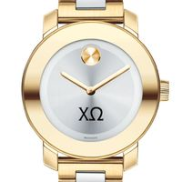 Chi Omega Women's Movado Two-Tone Bold