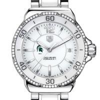 Michigan State Women's TAG Heuer Formula 1 Ceramic Diamond Watch